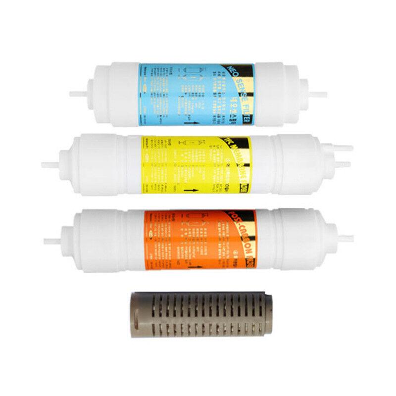 4pcs Purificateur d'Eau Filtre De Remplacement Set Compatible Pour COWAY CHP-08AL AR