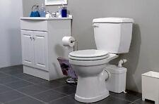 SANIFLO Sanitop TOILET W/Pump, Round Toilet Bowl w/Tank WHITE  017-003-005