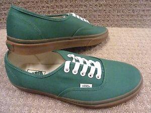 vans authentic gum sole green nz