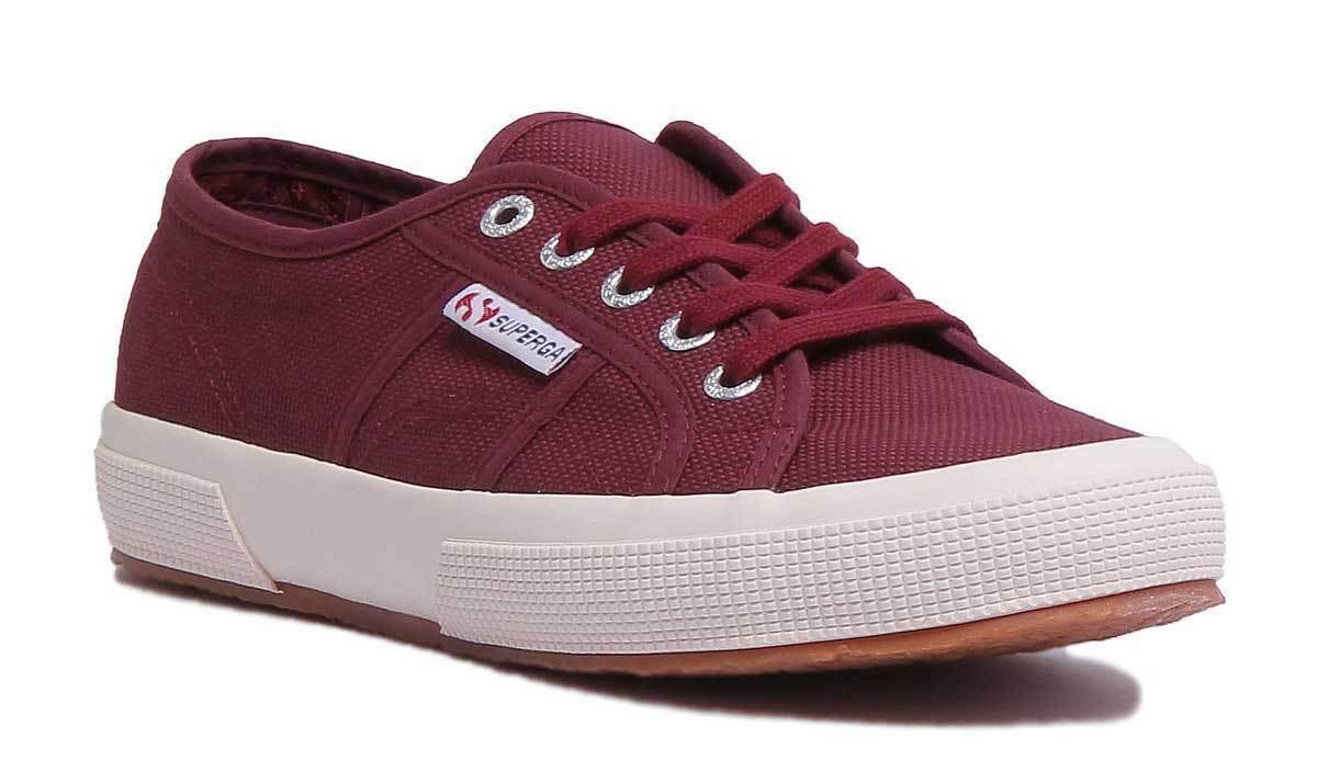 Superga 2750 Cotu Classic femmes  Canvas Burgundy Trainers