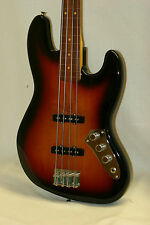 2016 USA Fender Artist Jaco Pastorius Jazz J Bass FRETLESS w/CASE World Unplayed