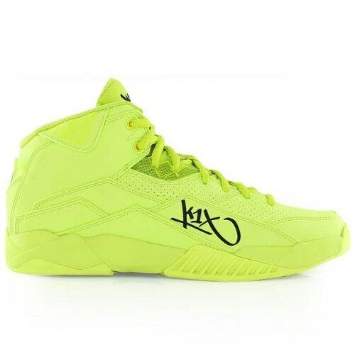 K1X Anti Gravity x volt Basketball Schuhe neon gelb mid cut
