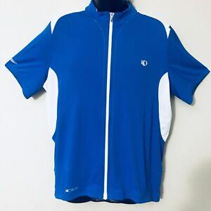 PEARL-IZUMI-Elite-Series-Blue-Men-s-Cycling-Road-Short-Sleeves-Jersey-Size-XXL