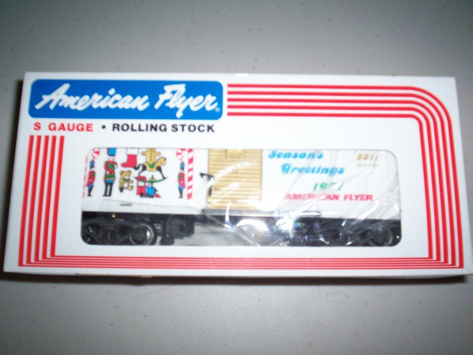 American Flyer  48311  1991 Christmas Box Car