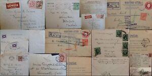 Image Is Loading Gb George V 1910 1936 Postal History Registered