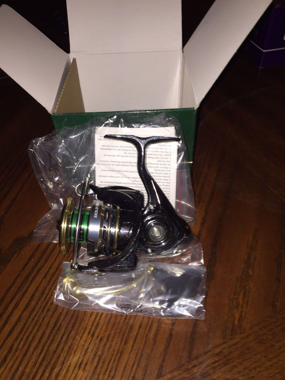 NEW Daiwa Exceler LT 2500D Spinning Reel, Carbon Light Body, 5.3 1 EXLT2500D