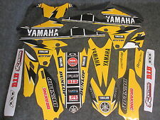 Yamaha YZF250 YZF450 2014-2017 Yellow 60TH Anniversary graphics + plastics set