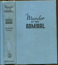 Murder of the Admiral-Steve Fisher-1st Edition-1936-Author's First Book