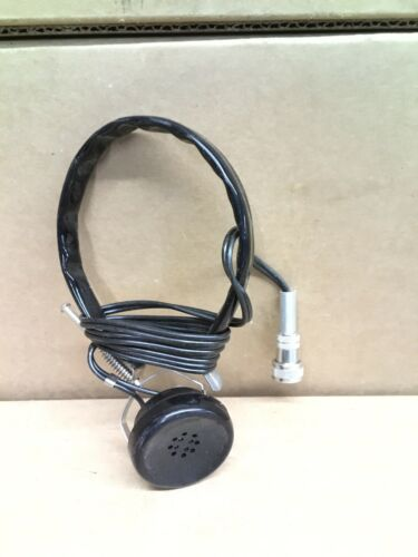 AUDIO HEADSET FOR CDV-700 VICTOREEN AND LIONEL RADIATION DETECTOR//GEIGER COUNTER
