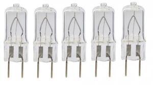 5-Bulbs-20-Watt-Xenon-T4-G8-20w-20-watt-120V-Clear-GY8-6-by-LSE-LIGHTING