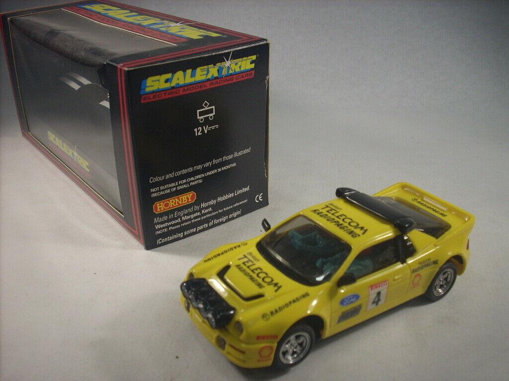 Scalextric Exin   C429 Ford RS200   Deco. Radiopaging Tampografiado   export