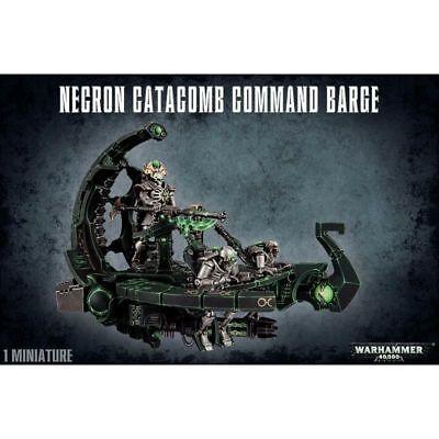 Annihilation Barge Warhammer 40k *Unassembled* *New* Necron Catacomb Command