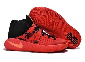 1d45336a9b01 Nike Kyrie 2 Irving Inferno Crimson Orange Black Men s 819583-680 ...
