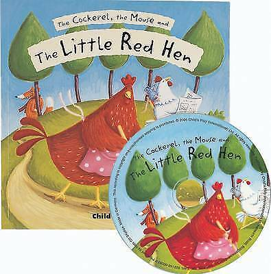 100% Verdadero The Cockerel, The Mouse And The Little Red Hen By Child's Play International Venta Caliente 50-70% De Descuento