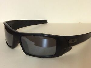 4ae443c7af OAKLEY GASCAN 12-856 Matte Black Black Iridium Polarized Sunglasses ...