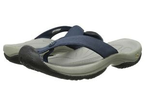 d22b27c8c3cb KEEN NEW Mens Size 10 US Waimea H2 Toe Guard Navy Thong Sandals Flip ...