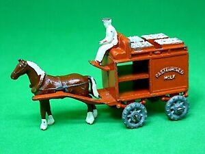 Matchbox-Lesney-No-7a-caballo-Dibujado-Flotador-de-leche
