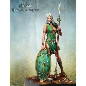 1-24-75mm-Resin-Figure-Model-Kit-Sexy-Girl-Female-Warrior-Unassambled-Unpainted