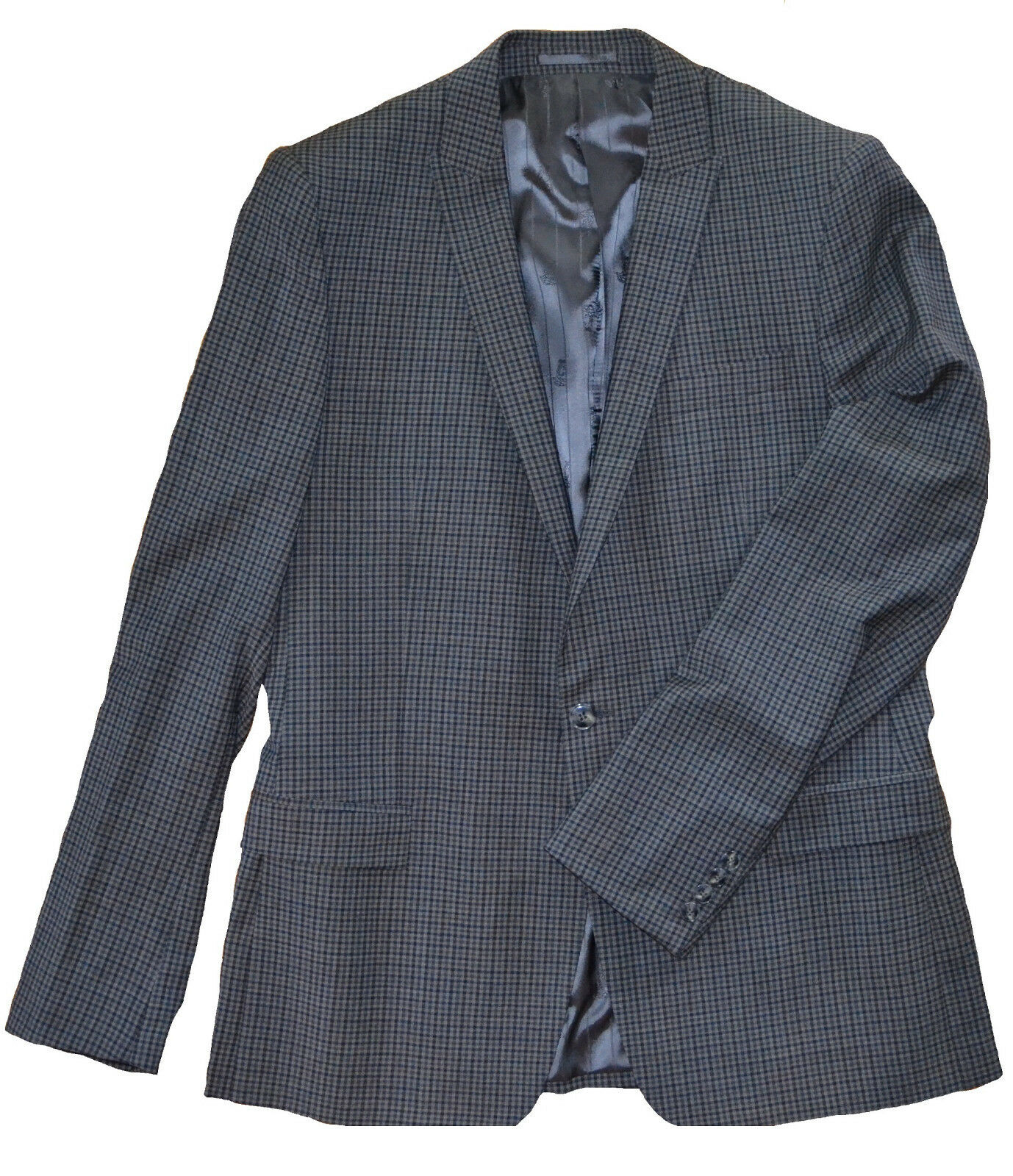 NWT 695 Versace Collection by Gianni Versace Slim Trim Fit Wool Blazer