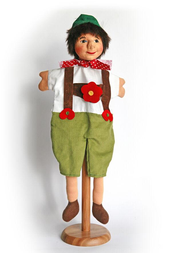 Puppet Doll Dresdner Künstlerpuppen New    Seppel    Made of New Manufacturing