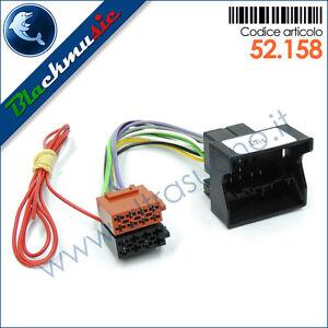 Cavo-adattatore-ISO-autoradio-Fiat-Bravo-2-dal-2007-con-navigatore-di-serie