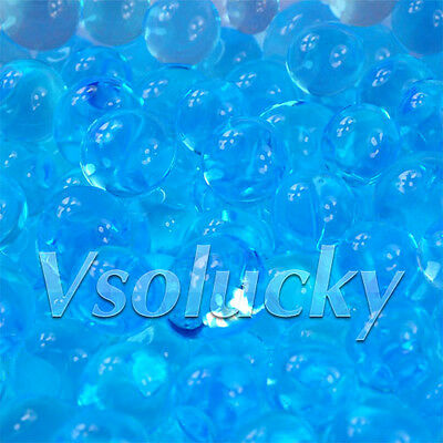 20 Bags Magic Crystal Mud Soil Water Beads Flower Planting Vase Filler Decor