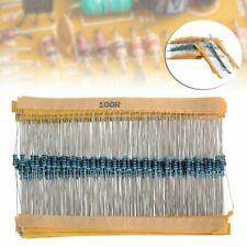New Listing600pcs 30 Values 14w Metal Film Resistors Resistance Assortment Kit Set 1