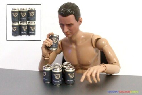 6PC 1//6 Ireland UK Great Britain Beer Cans Guinness For Enterbay Action Figure