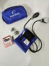 Dixie Ems Blood Pressure Cuff Only Royal Blue No Sprague Stethoscope For Parts