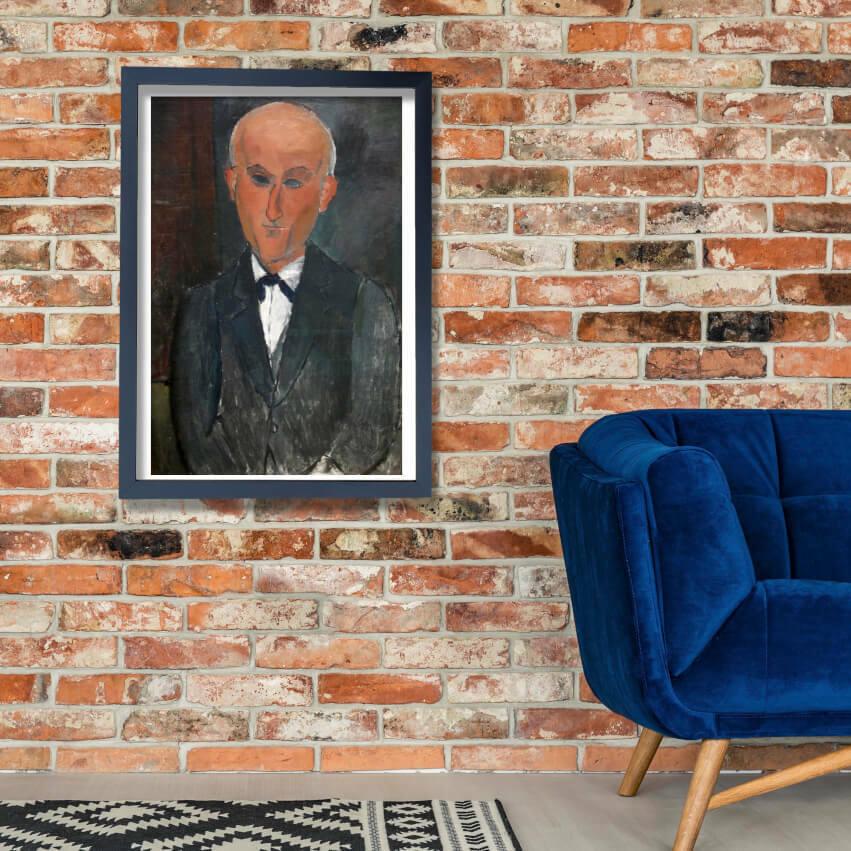 Amedeo Modigliani - Ritratto di Max Jacob Wall Art Poster Print