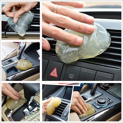 Universal Auto Interior Dashboard Air Vents Armrest Transparent Clean Gel Glue