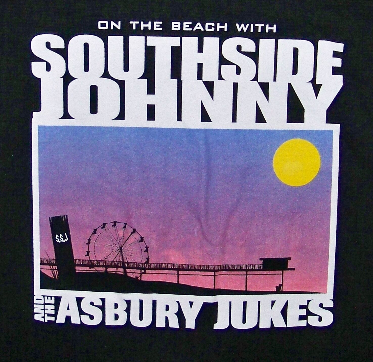SOUTHSIDE JOHNNY AND ASBURY JUKES SUMMER TOUR 1999 USA   VINTAGE T-SHIRT SIZE M