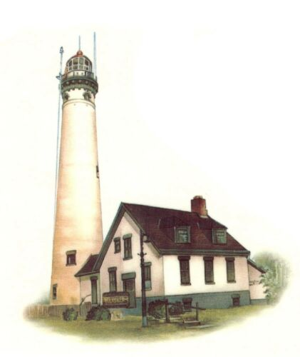 Lighthouse  Select-A-Size Waterslide Ceramic Decals Xx