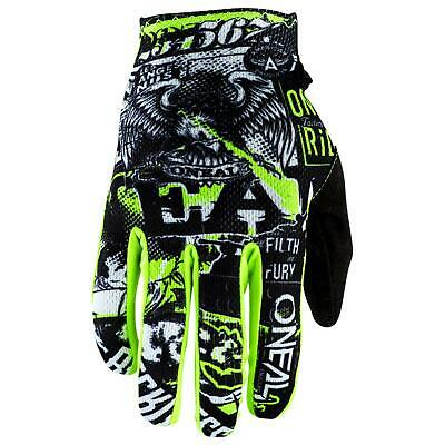O/'Neal Matrix Kinder Handschuhe Attack Neon Gelb MX MTB Moto Cross Kids Jugend