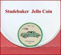 1960s Jell-o Jello Hostess antique cars wheel coins
