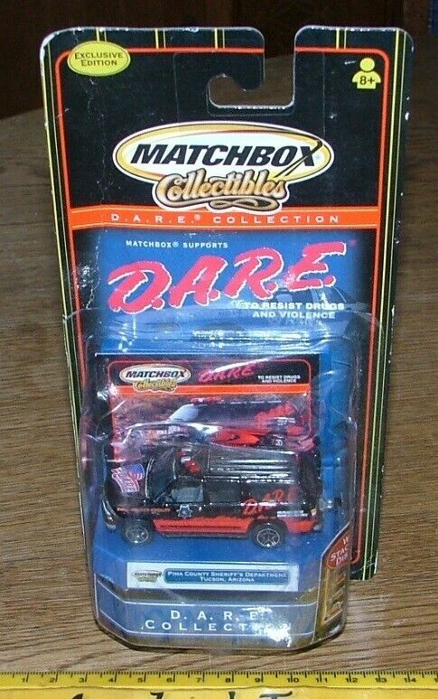 1999 Matchbox Collectibles ~ DARE ~ Country Sheriff's Department Tuscon ~ Mint in Display Box