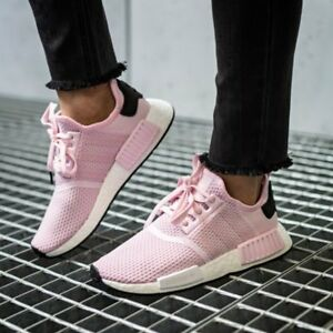 Details about Adidas NMD_R1 Runner W Nomad Women's Clear Pink Cloud White Core Black B37648