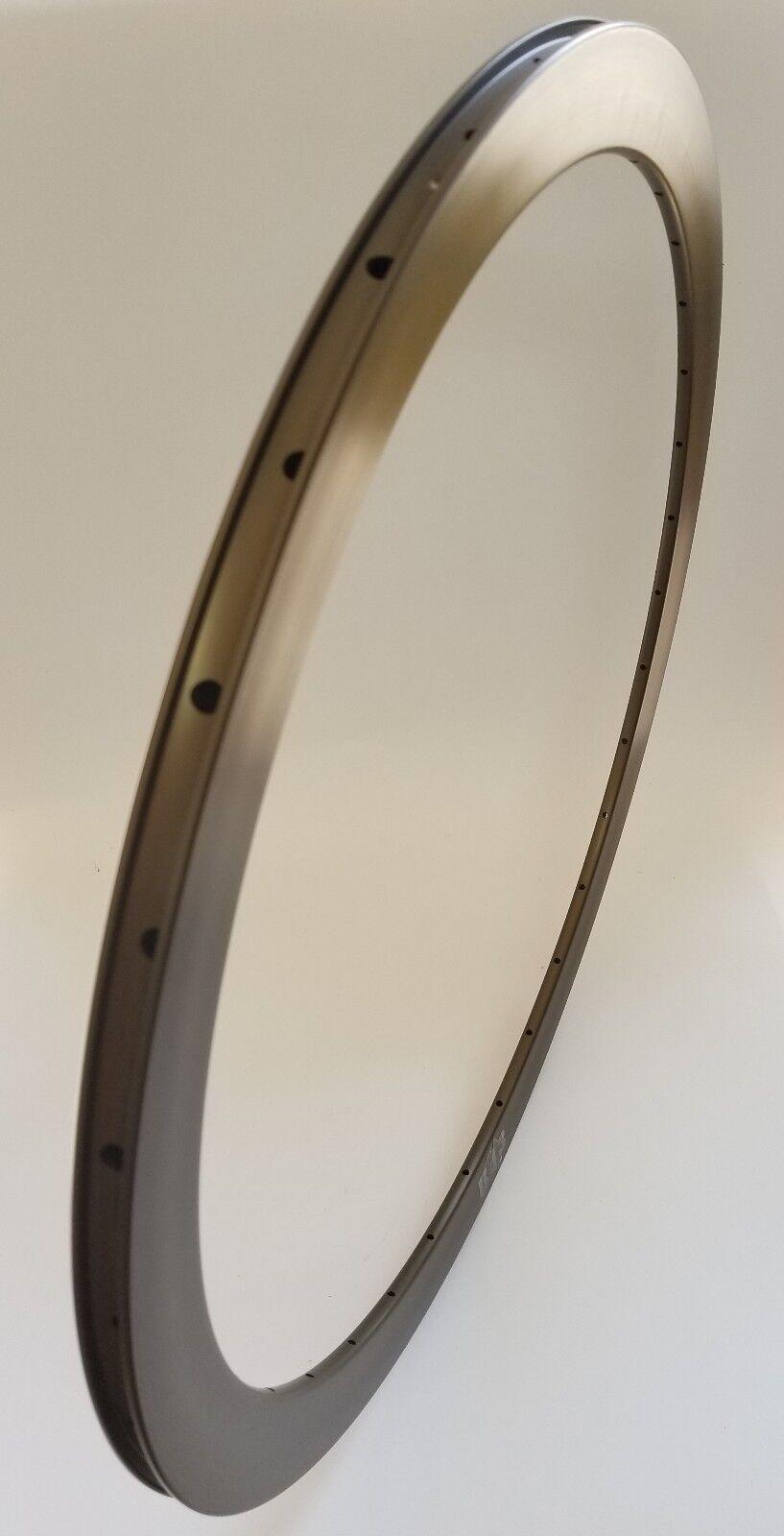 Velocity B43 Bicycle Rim,700C, Blau grau Anodized, 32 Hole, NMSW
