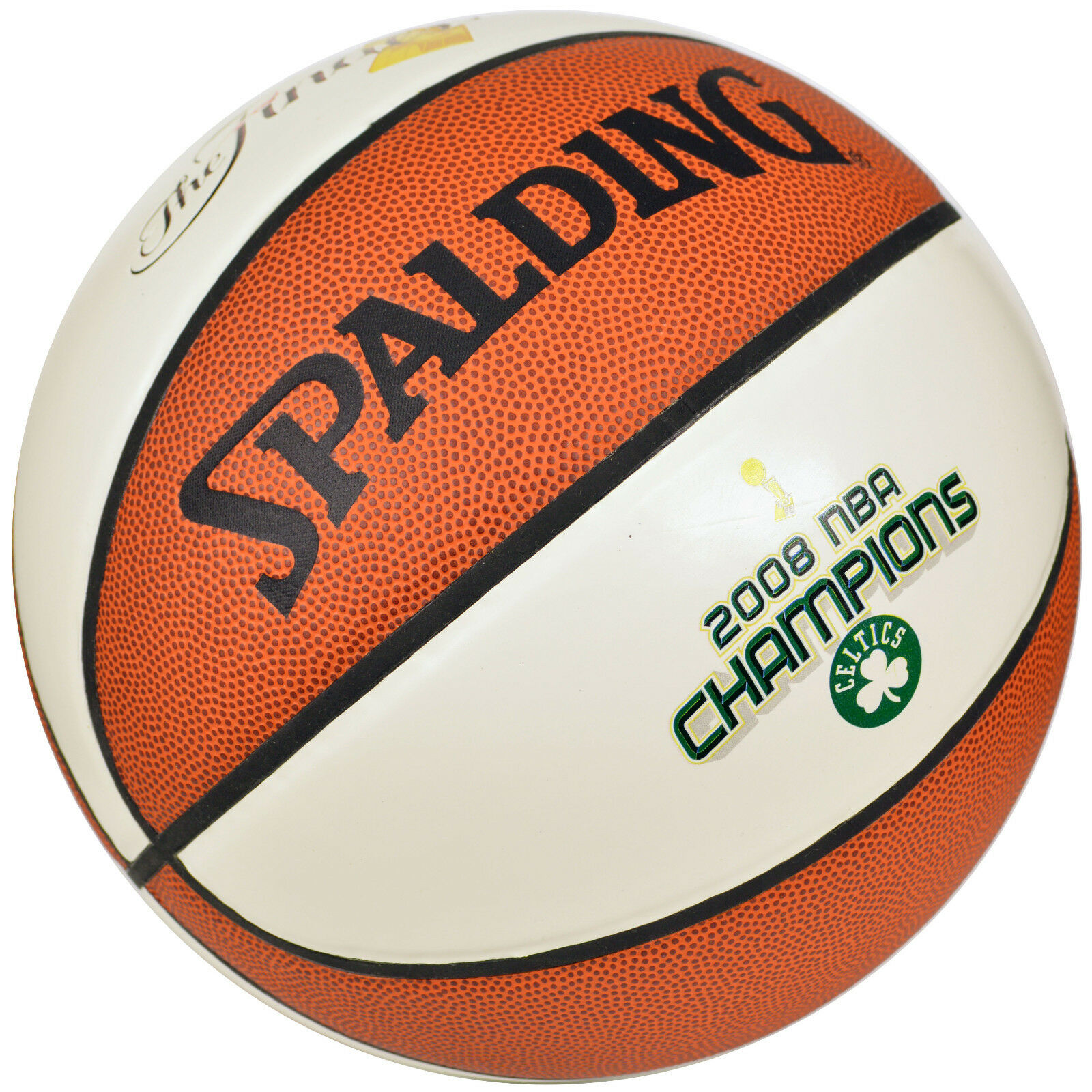 SPALDING THE FINALS BOSTON CELTICS 2008 NBA CHAMPIONS BASKETBALL