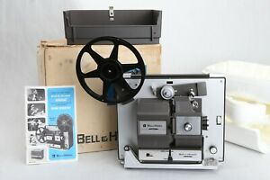 Bell-amp-Howell-456-A-Super-8-Standard-8mm-Movie-Projector-Dim-Bulb-Feed-issue