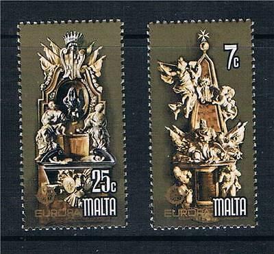 Malta 1978 Europa Monuments SG599/600 MNH