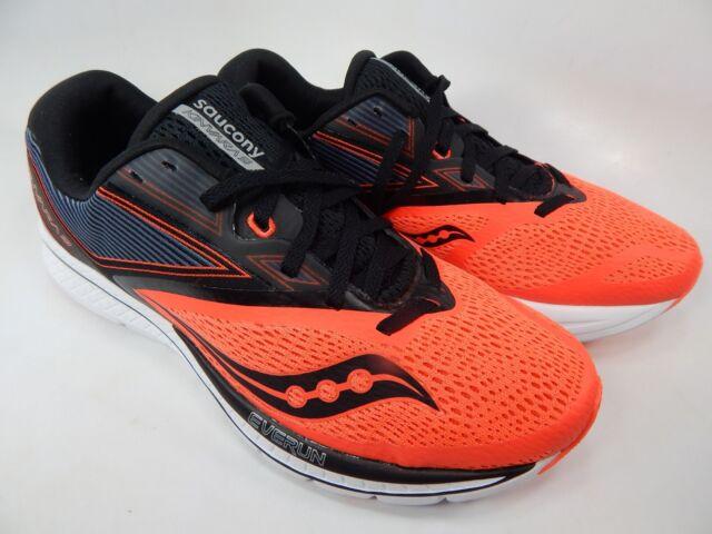 Saucony S20418 35 Kinvara 9 Viz Red Black Men's Running Shoes 10.5 US