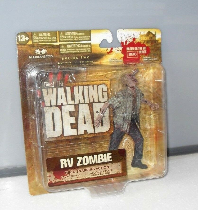 RV ZOMBIE THE WALKING DEAD TV SERIES 2,  MCFARLANE TOYS 5  ACTION FIGURE SEALED