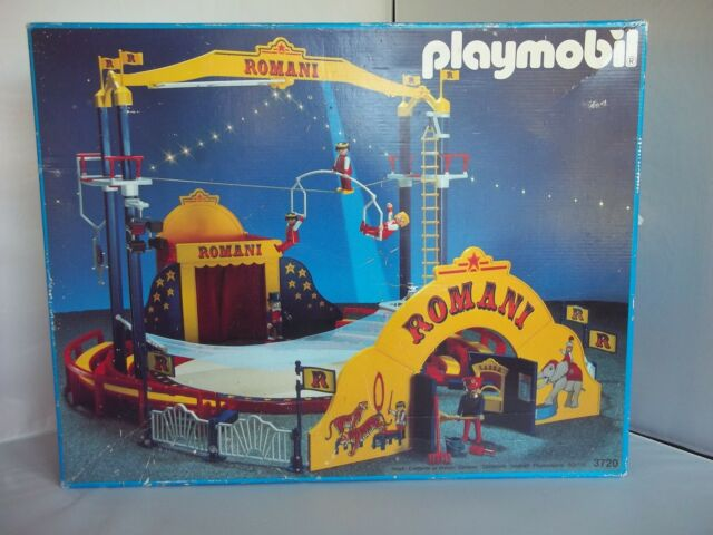 PLAYMOBIL Greatest Showman 3720 Vintage MINT Romani Circus Complete+FREE Extras