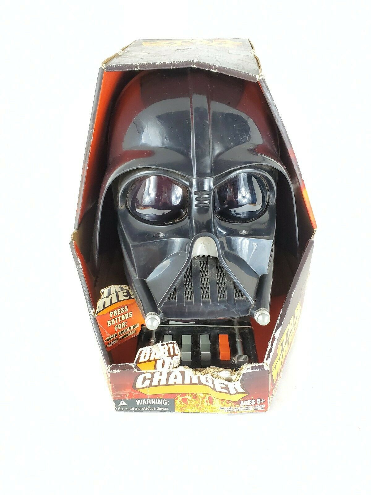 2005 Collectable Darth Vader Sith Lord Kit Voice Changer Light Sabre And Cape For Sale Online Ebay