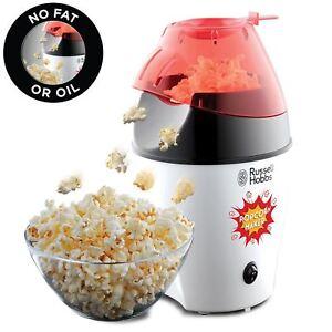 Russell-Hobbs-24630-Popcorn-Macher-Elektrisch-Heisse-Luft-mit-Deckel-Loeffel-No