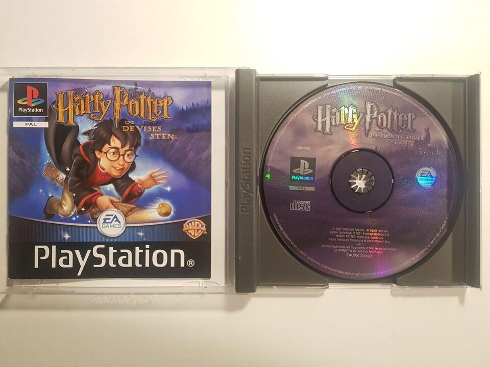 Harry Potter og de vises sten, PS