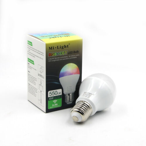 Mi Light Wifi Smart Lampe Wlan RGB CCT Alexa LED Dimmbar Glühbirne Lichtleiste