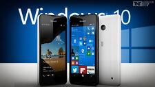 NUEVO NOKIA LUMIA 550 BLANCO 4G DESBLOQUEO SMARTPHONE WINDOWS 10 ORIGINAL
