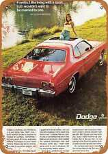 Metal Sign 1973 Dodge Dart Sport Vintage Look